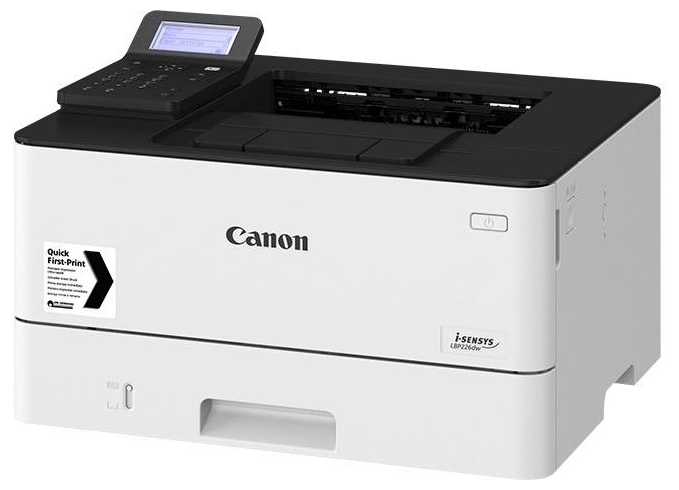"""Лазерный принтер Canon """"i-SENSYS LBP226dw"""" A4, 600x600dpi, ЖК, бело-серый"""