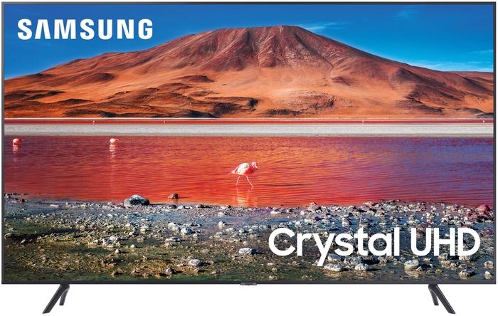 "Телевизор 55"" Samsung ""Crystal UHD 4K Smart TV TU7090"" UE55TU7090UXRU, титан"