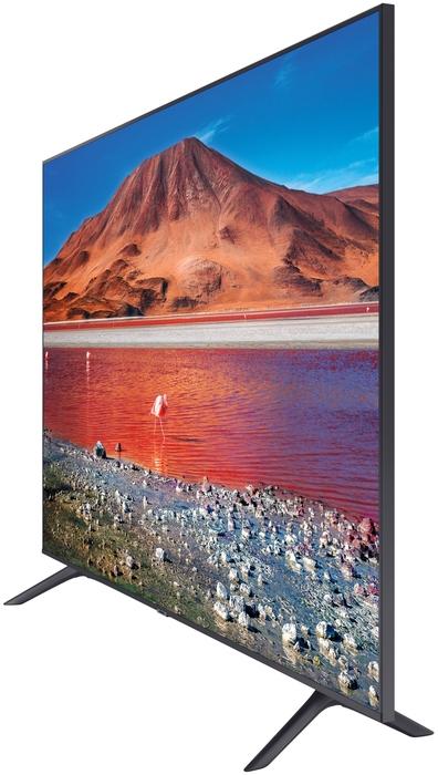 """null Телевизор 55"""" Samsung """"Crystal UHD 4K Smart TV TU7090"""" UE55TU7090UXRU, титан. null."""