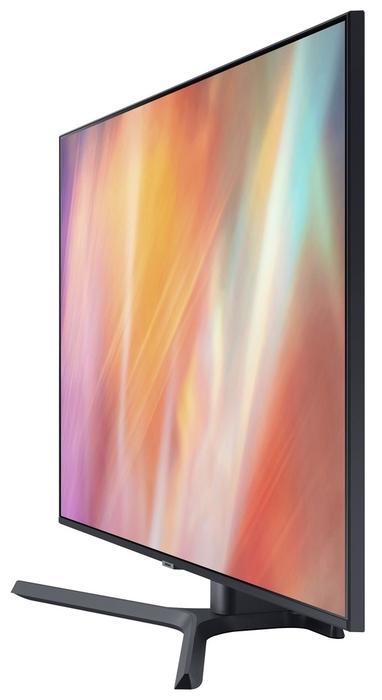 "null Телевизор 43"" Samsung ""UHD Smart TV UE43AU7500UXRU"", титан. null."