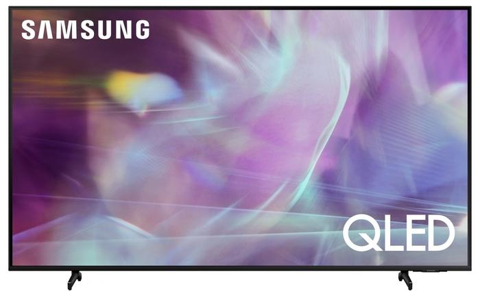 """Телевизор 55"""" Samsung """"QLED UHD 4K Smart TV QE55Q60AAUXRU"""", черный"""