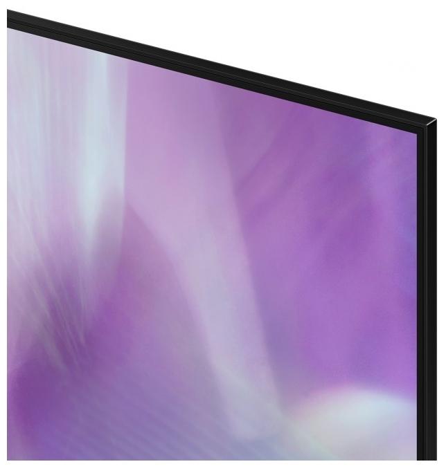 "null Телевизор 65"" Samsung ""QLED UHD 4K Smart TV QE65Q60AAUXRU"", черный. null."