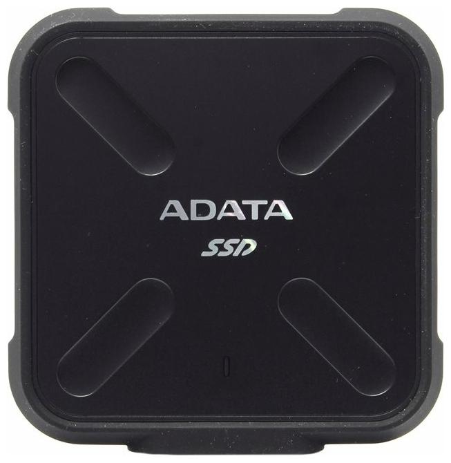 "Внешний SSD диск 1ТБ ADATA ""SD700"" ASD700-1TU31-CBK, черный"