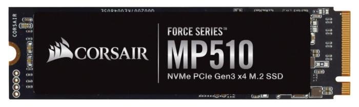 "SSD диск 240ГБ M.2 Corsair ""Force MP510"" CSSD-F240GBMP510"