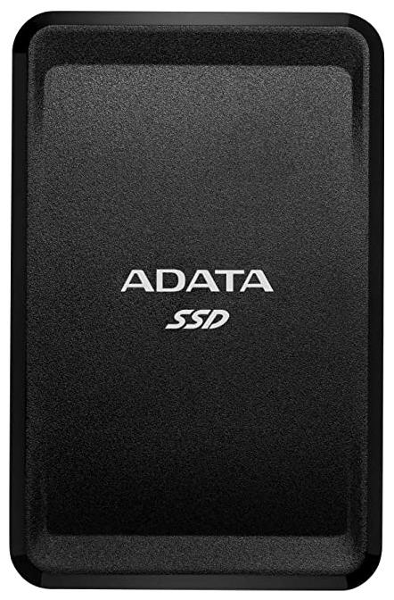 """Внешний SSD диск 500ГБ ADATA """"SC685"""" ASC685-500GU32G2-CBK, черный"""