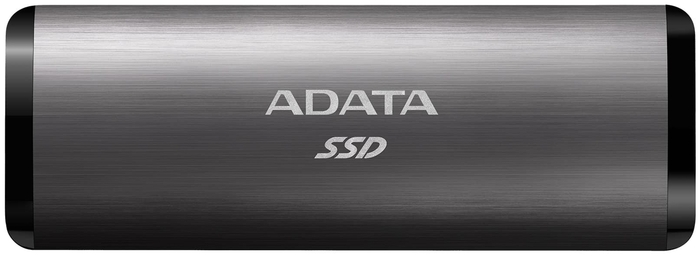 """Внешний SSD диск 256ГБ ADATA """"SE760"""" ASE760-256GU32G2-CTI, титан"""
