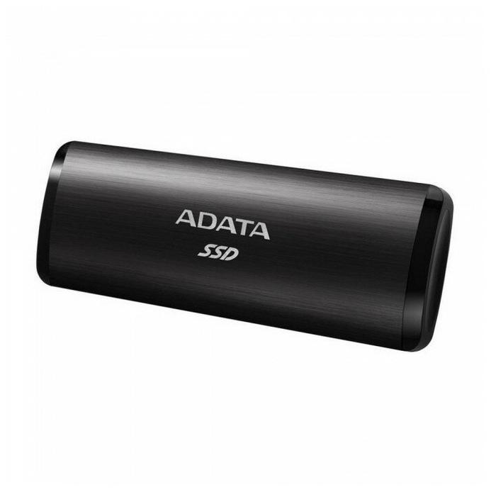 """Внешний SSD диск 512ГБ ADATA """"SE760"""" ASE760-512GU32G2-CBK, черный"""