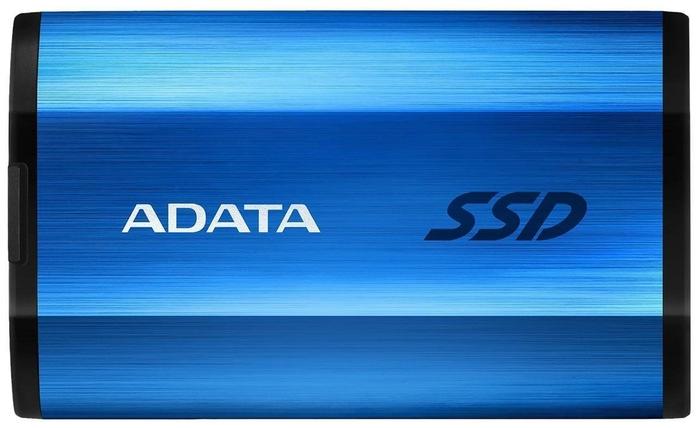 """Внешний SSD диск 512ГБ ADATA """"SE800"""" ASE800-512GU32G2-CBL, синий"""
