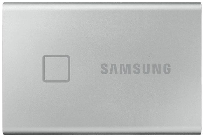 """Внешний SSD диск 500ГБ Samsung """"T7"""" MU-PC500S/WW, серебр."""