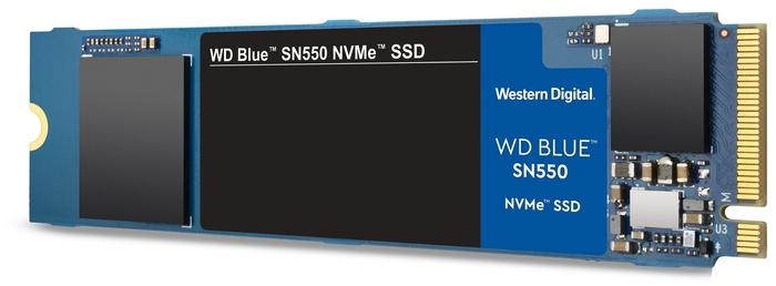 """SSD диск 500ГБ M.2 Western Digital """"Blue SN550"""" WDS500G2B0C"""