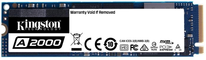 """SSD диск 1ТБ M.2 Kingston """"A2000"""" SA2000M8/1000G"""