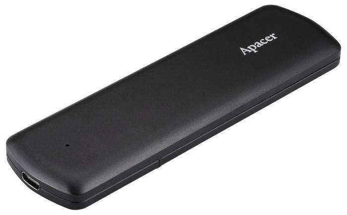 "Внешний SSD диск 500ГБ Apacer ""AS721"" AP500GAS721B-1, черный"
