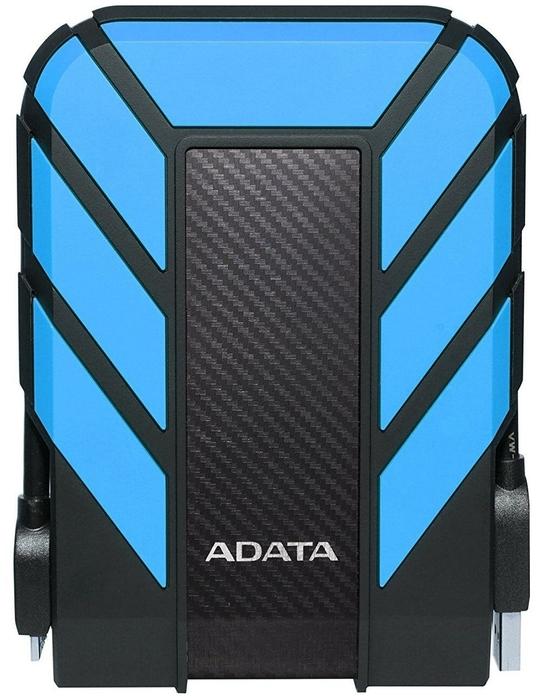 """Внешний жесткий диск 2ТБ 2.5"""" ADATA """"HD710 Pro"""" AHD710P-2TU31-CBL, сине-черный"""