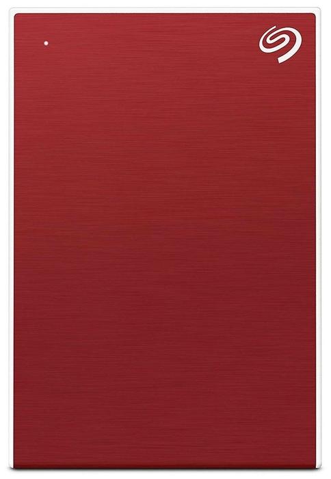 """Внешний жесткий диск 4ТБ 2.5"""" Seagate """"One Touch"""" STKC4000403, красный"""