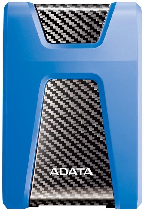 """Внешний жесткий диск 1ТБ 2.5"""" ADATA """"HD650"""" AHD650-1TU31-CBL, сине-черный"""
