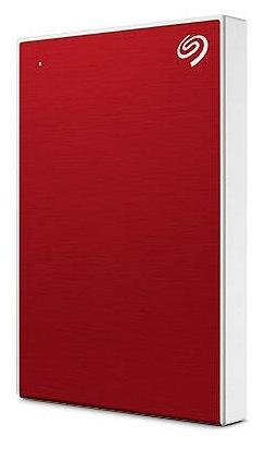 "Внешний жесткий диск 1ТБ 2.5"" Seagate ""One Touch"" STKB1000403, красный"