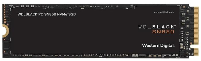 "SSD диск 500ГБ M.2 Western Digital ""Black SN850"" WDS500G1X0E"