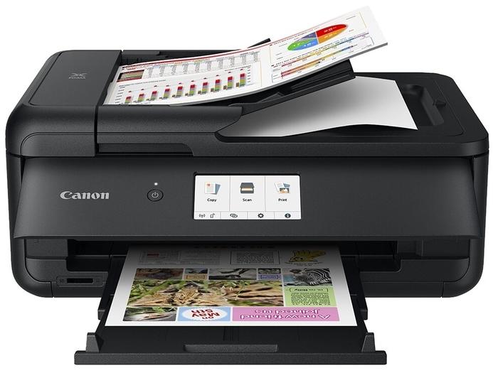 """Многофункциональное устройство Canon """"PIXMA TS9540"""" A3, струйный, принтер + сканер + копир, ЖК, CR, черный"""